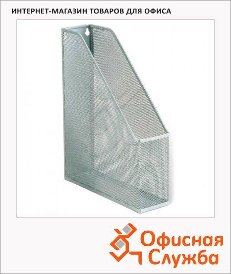 фото: Накопитель вертикальный для бумаг Brauberg А4 72мм, серебристый