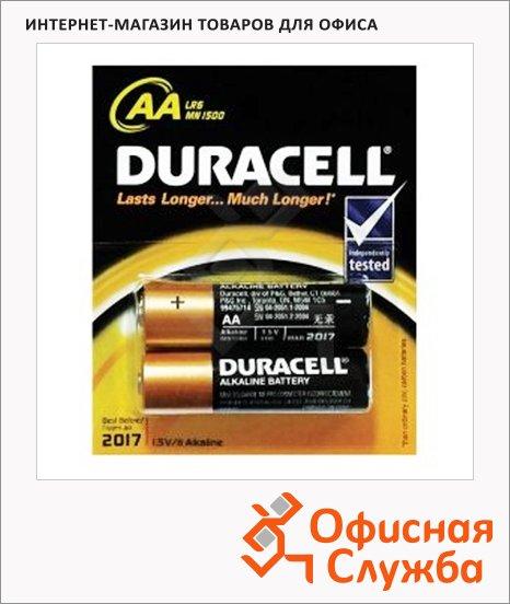 фото: Батарейка Duracell Basic АА/LR06-2BL 1.5В, 2шт/уп