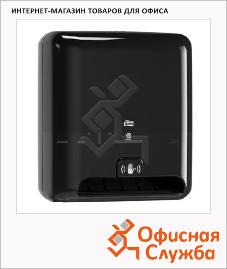 фото: Диспенсер для полотенец в рулонах Tork Elevation H1 551108, сенсорный, черный