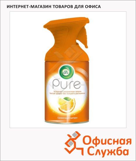 фото: Освежитель воздуха Air Wick Pure солнечный цитрус 250мл, аэрозоль