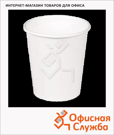 фото: Стакан одноразовый Huhtamaki 250мл бумажный белый, 50шт/уп