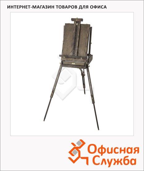фото: Этюдник Малевичъ Винтаж 37х56х16см высота 140-180см, телескопический, вяз