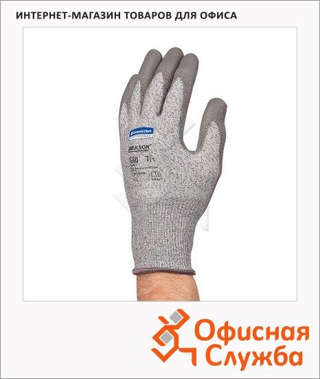 фото: Перчатки от порезов Kimberly-Clark Jackson Safety G60 13823 серые, S