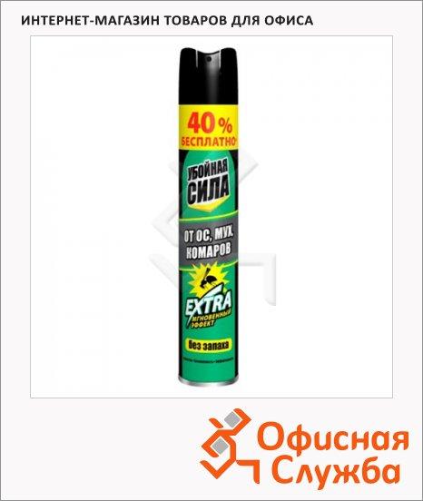 фото: Средство от насекомых Убойная Сила Extra 200мл без запаха, аэрозоль