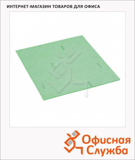фото: Салфетка хозяйственная Vileda Pro Веттекс Классик 18х20см зеленая, 111686