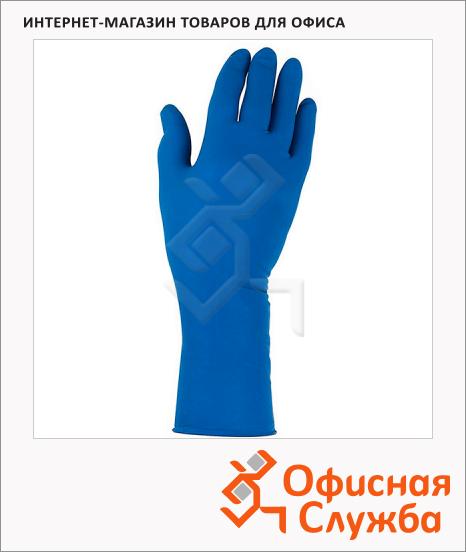 фото: Перчатки защитные Kimberly-Clark Jackson Safety G29 Solvent 49824 нитриловые, синие, 25 пар, M