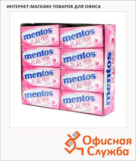фото: Жевательная резинка Mentos Pure Fresh тутти фрутти с экстрактом зеленого чая, 16шт х 15г