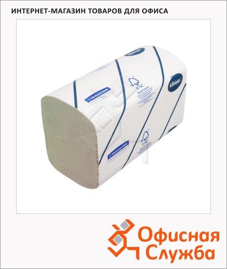 фото: Бумажные полотенца Kimberly-Clark Kleenex Ultra 6777 листовые, 124шт, 2 слоя, белые
