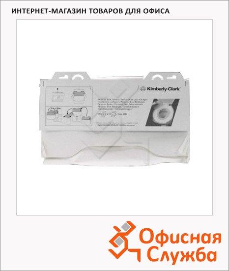 Индивидуальные покрытия на унитаз Kimberly-Clark 6140, белые, 125шт