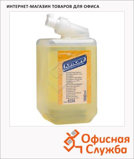 Жидкое мыло в картридже Kimberly-Clark Kimcare 6334, 1л, антибактериальное, желтое