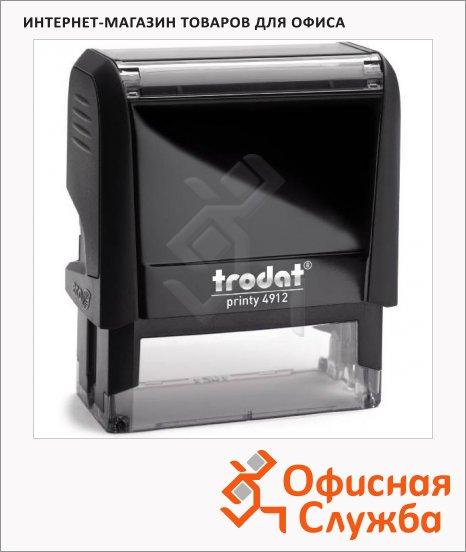 Оснастка для прямоугольной печати Trodat Printy 47х18мм, 4912, черная