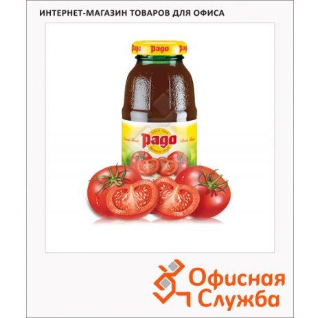 фото: Сок Pago томат 200мл x 3шт, стекло