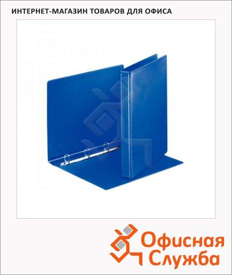 Папка-панорама на 4-х кольцах А4 Esselte синяя, 35 мм, 49757