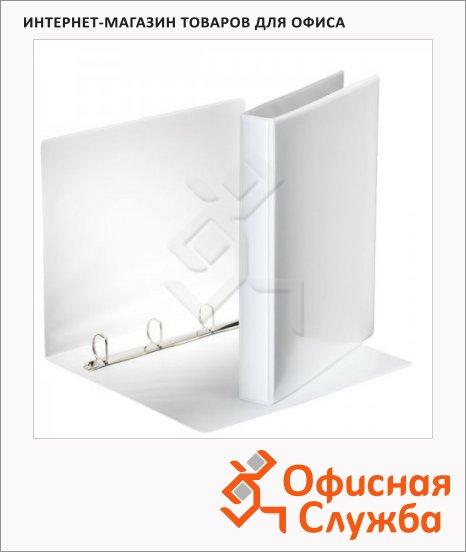 Папка-панорама на 4-х кольцах Esselte белая, А4, 40 мм, 49702
