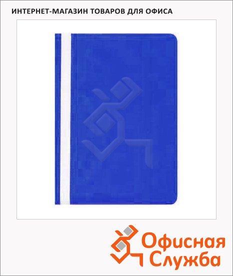 Скоросшиватель пластиковый Bantex синий, А4, 323801