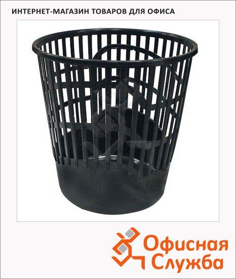 Корзина для бумаг Пик 12 литров, черная
