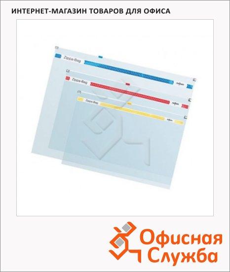 фото: Пластиковая папка на молнии Snopake Zippa-Bag прозрачная А4, 180мкм, K11463