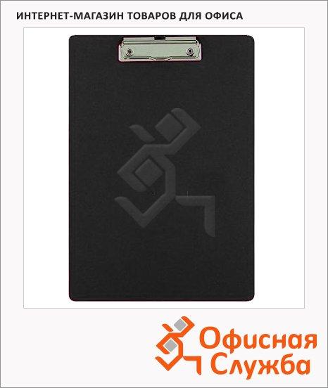 Клипборд с крышкой Bantex черная, А4, 4210-10
