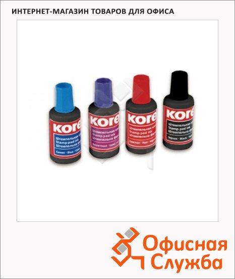 Штемпельная краска на водно-масляной основе Kores 30 мл, черная
