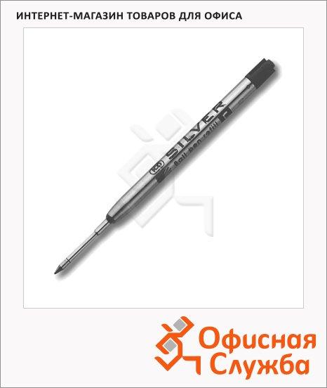 Стержень для шариковой ручки Ico Silver черный, 0.5 мм, 98 мм