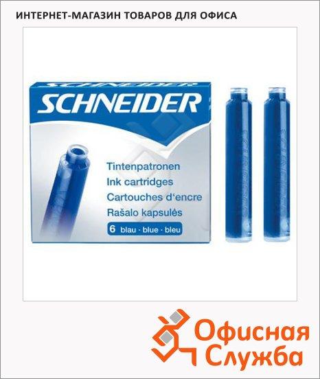 фото: Картридж для перьевой ручки Schneider № 5 синий 6шт