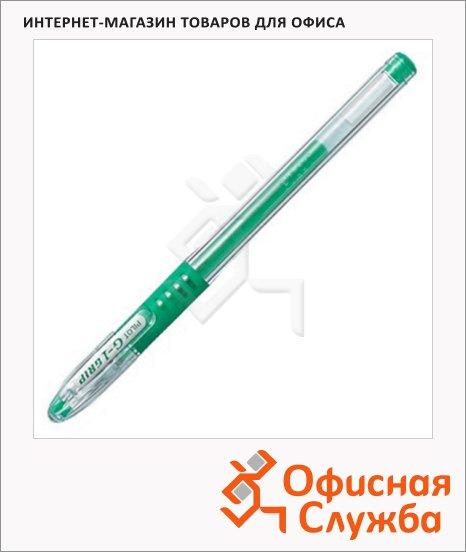 Ручка гелевая Pilot BLGP-G1 Grip зеленая, 0.3мм