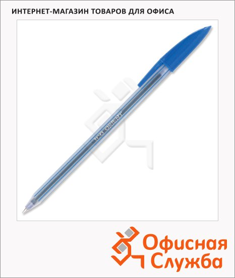 фото: Ручка шариковая Ico Orient синяя 0.5мм