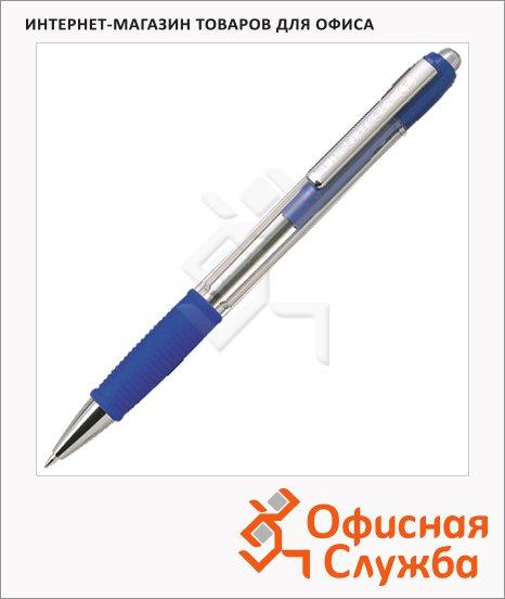Ручка шариковая автоматическая Pilot Super Grip 20R синяя, 0.32мм