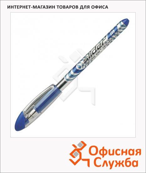 Ручка шариковая Schneider Slider Basic M синяя, 0.5мм