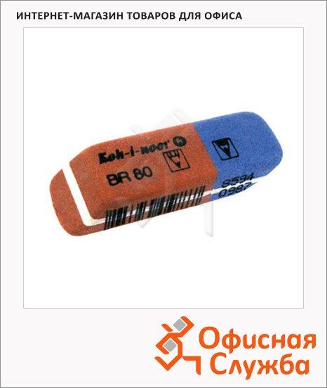 фото: Ластик Blue Star BR 80 сине-красный, для карандаша и ручки