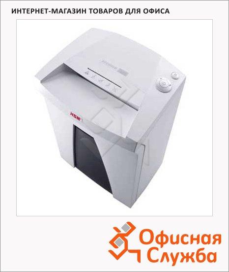 Офисный шредер Hsm Securio B24-3.9, 24 листа, 34 литра, 2 уровень секретности