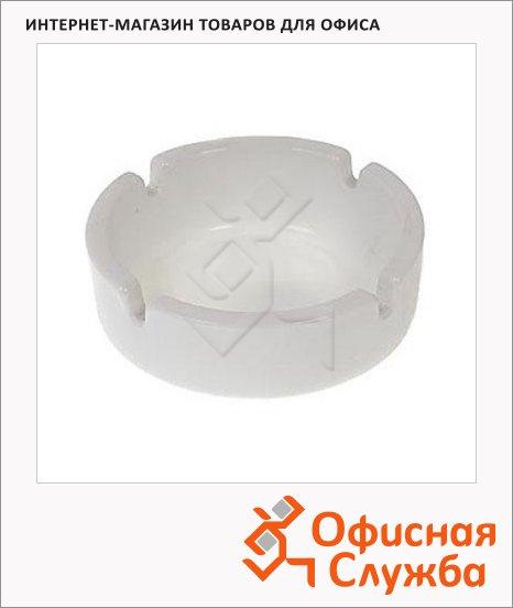 Пепельница Luminarc белая, d=8.5см
