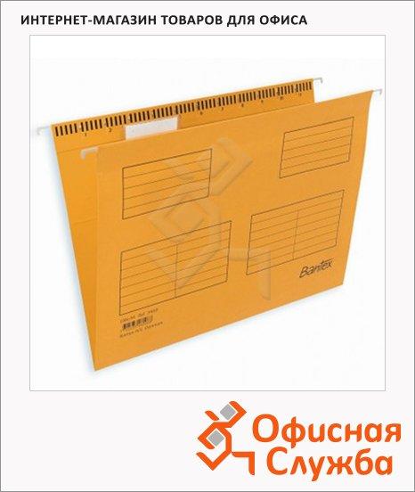 Папка подвесная стандартная А4 Bantex желтая, 25 шт/уп, 3463/3460-06