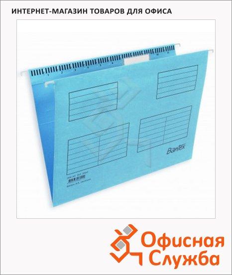 Папка подвесная стандартная А4 Bantex голубой, 25 шт/уп, 3463/3460-11