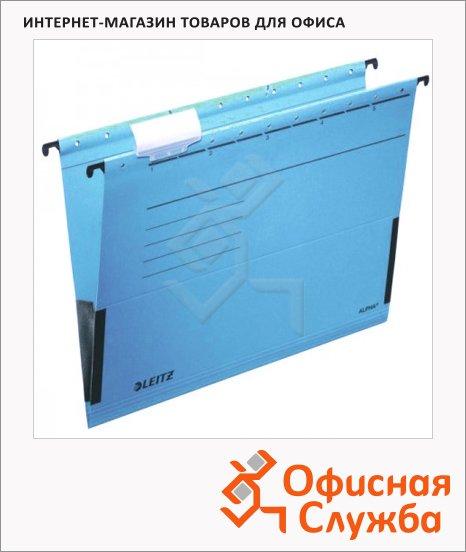 фото: Папка подвесная стандартная А4 Leitz Alpha синяя 19860035
