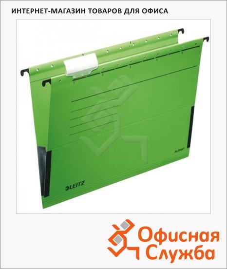 фото: Папка подвесная стандартная А4 Leitz Alpha зеленая 19860055