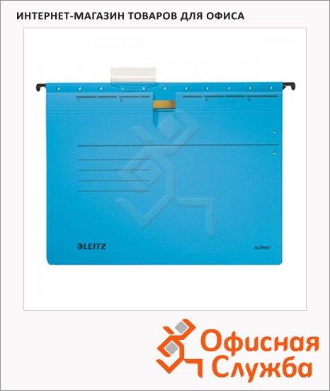 фото: Папка подвесная стандартная А4 Leitz Alpha синяя 19840035