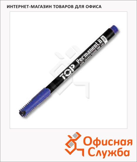 фото: Маркер перманентный Ico Top B синий 3мм, круглый наконечник