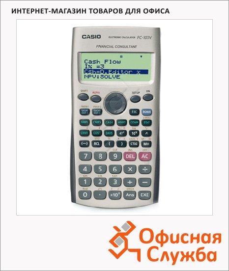 Калькулятор финансовый Casio FС-100V серый, 10 разрядов