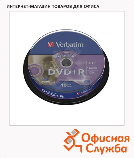 ���� DVD+R Verbatim