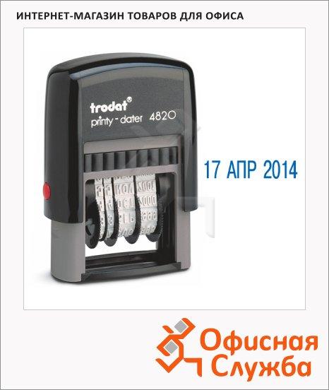 Датер автоматический Trodat Printy 4мм, русские буквы, 4820