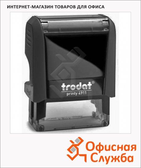 фото: Оснастка для прямоугольной печати Trodat Printy 38х14мм 4911, черная