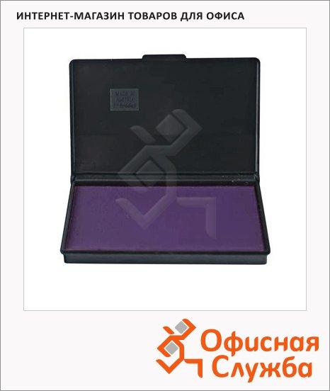 фото: Штемпельная настольная подушка Trodat 90х50мм краска на водной основе, фиолетовая