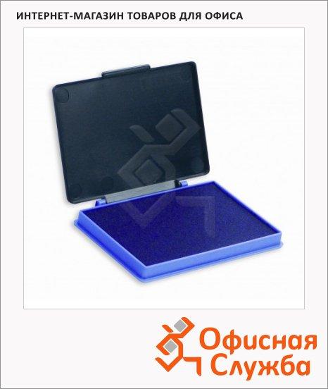 фото: Штемпельная настольная подушка Kores 70х110мм краска на водной основе, пластик, фиолетовая