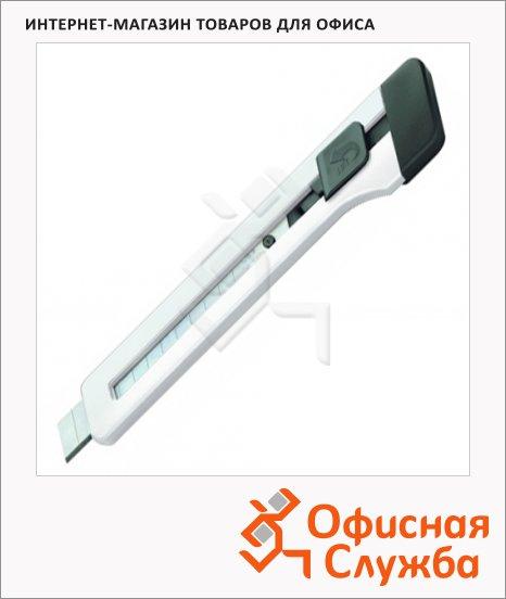 фото: Нож канцелярский Edding Е-M9 9 мм белый