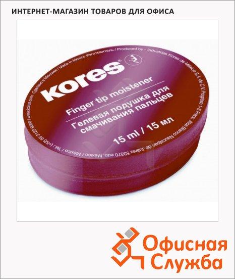 фото: Подушка для смачивания пальцев Kores гелевая 15г