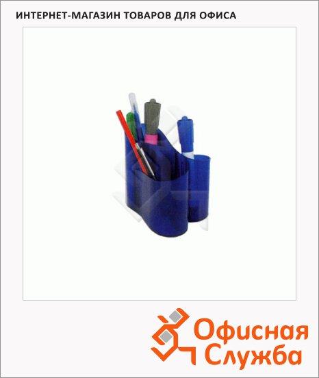 Органайзер настольный Ico Lux Round 3 секции, синий