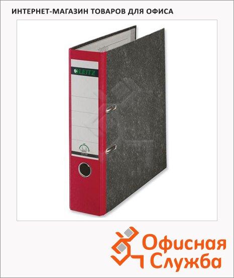 Папка-регистратор А4 Leitz красная, 80 мм, 10800225