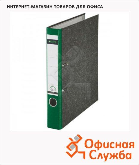 Папка-регистратор А4 Leitz зеленая, 50 мм, 10500255