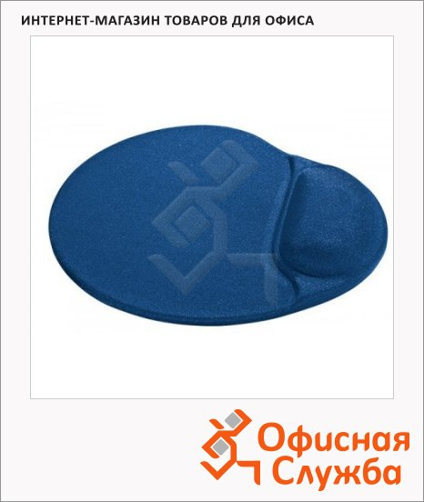 Коврик для мыши Defender DL009/908 синий, с гелевой подкладкой